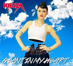 "Kiesza está pronta para a dominação com o segundo single ""Giant In My Heart"""
