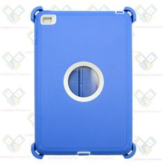 NEW Blue White Shockproof Defender rugged Hybrid Case For Apple iPad Mini 4 b1