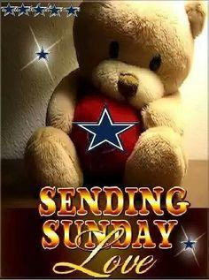 Love for Sundays & Cowboys ♡