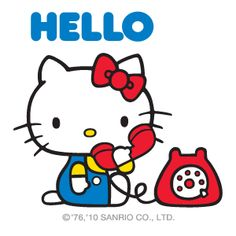 Free Hello Kitty Feb 2013 Calendar