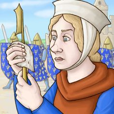 Magistra Hersend circa 1249 Art byJulian Lozos (tumblr, twitter, deviantart) Magistra Hersend was a French surgeonwho accompanied KingLou...