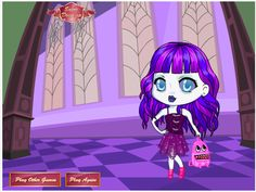 Clawdeen Wolf Scaris Dress Up Monster High Games Monster High - Monster high dress up games spectra hairstyle