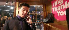 Rory McIlroy makes his Big Thank You call. #BigThankYou