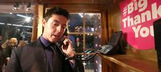 Rory McIlroy makes his Big Thank You call. #BigThankYou