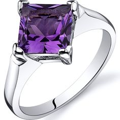 'Genuine Amethyst .925 Sterling Silver Ring SZ 7,8,9' is going up for auction at 1am Thu, Oct 25 with a starting bid of $1.