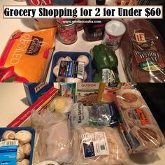 Grocery Haul and Meal Plan for 2 for under $60 at A Writer Cooks. View the post at http://www.awritercooks.com/grocery-shopping-and-meal-plan-may-9/