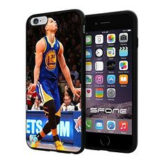 """NBA All Star Stephen Curry , Cool iPhone 6 Plus (6+ , 5.5"""") Smartphone Case Cover Collector iphone TPU Rubber Case Black SHUMMA http://www.amazon.com/dp/B00WTPQYV8/ref=cm_sw_r_pi_dp_Oieqvb11G5VGR"""