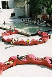 PPAG_Yard furniture MuseumsQuartier Vienna Public Space MuseumsQuartier Vienna…