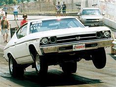 This 1969 #Chevelle SS396 has run a best of 10.39 at 126 mph