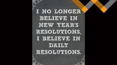 "Why A New Year Doesn't Have To Be ""New"" At All By Kalee Wulfer: 2016 is here! With a new year comes new opportunities, new chances to do things differently, new ways of thinking, and just an overall sense of having a blank slate. A fresh start………Or is it?..."