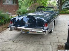 lincoln continental mark 2 convertible