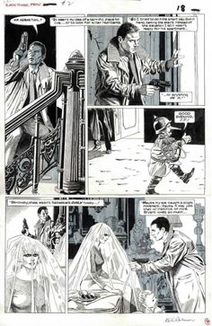 "Al Williamson - ""Blade Runner"" Comic Book Artists, Comic Book Characters, Comic Books Art, Pulp Fiction Art, Science Fiction, K Dick, Comic Layout, Film Blade Runner, Nerd Art"