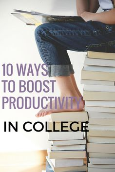 10 Ways to Boost Productivity in College — Dom Bagnoche College Packing, College Survival, My College, College Hacks, School Hacks, College Board, Revision Tips, College Success, Exams Tips
