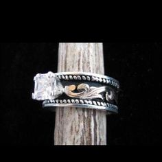Beautiful Western Rings Western wedding rings Pinterest