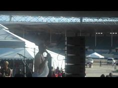 "Le'Andria Johnson performs ""Sooner or Later"" at the Keeping The Faith Festival in Pomona, CA"