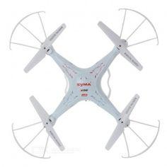 SYMA X5C-1 2.4GHz 4-CH Radio Control UFO Quadcopter w/ Camera - White