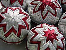 Dekorácie - vianočné ozdoby 62 - 8cm - 4584445_