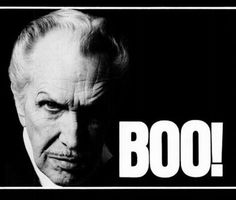 My October is never complete without Vincent Price! One of my favorites.