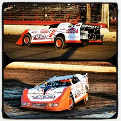 Late Model race car at Grandview Speedway driven by Chuck Schutz !