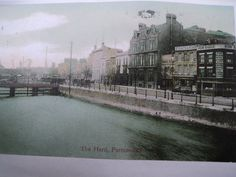 The Hard Portsmouth C 1905 Historical Pictures, Beautiful Places To Visit, Portsmouth, Hampshire, Old Photos, Britain, Retro Vintage, Cities, The Past