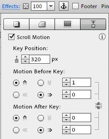The settings for a scrolling menu with Adobe Muse CC. Adobe Muse, Menu, Positivity, Tips, Tutorials, Menu Board Design, Menu Cards, Hacks, Wizards