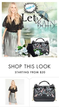 """Silver <3"" by seka-247 ❤ liked on Polyvore featuring Miss Selfridge and Chloé"
