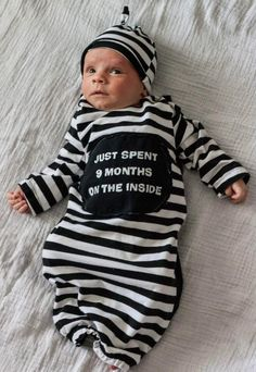 Made from an old Maternity Shirt!!  If I ever have a Halloween baby..too cute.