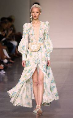 Zimmermann from Best Looks from NYFW Spring 2018 Fashion 101, Look Fashion, Couture Fashion, Runway Fashion, Trendy Fashion, Spring Fashion, High Fashion, Fashion Show, Fashion Design
