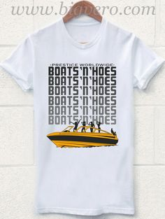 Boats & Hoes T Shirt Size S-2XL //Price: $17.00    #clothing #shirt #tshirt #tees #tee #graphictee #dtg #bigvero #OnSell #Trends #outfit #OutfitOutTheDay #OutfitDay