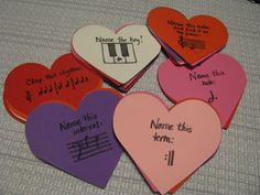 Musical Hearts: A music trivia game for valentines day.