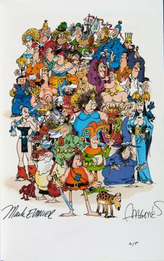 Groo Family by Sergio Aragones