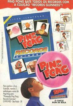 Ping Pong- Coleção Record Guinness (1995)