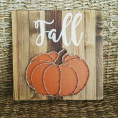 Check out this item in my Etsy shop https://www.etsy.com/listing/457597860/hand-painted-fall-pumpkin-string-art
