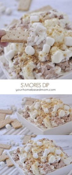 Smores Dip is a fun