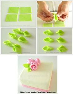 Easy Rose Cutter - For all your cake decorating supplies, p - Salvabrani Cake Decorating With Fondant, Fondant Decorations, Cake Decorating Supplies, Cake Decorating Techniques, Cake Decorating Tutorials, Fondant Rose, Fondant Flowers, Sugar Flowers, Fondant Cakes
