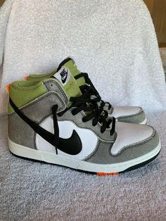 fc1341ee51052 Nike Dunk CMFT white black green Mens Size 10. DS. Without Box.  fashion   clothing  shoes  accessories  mensshoes  athleticshoes (ebay link)