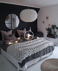39 Fantastic bedroom color schemes that create a relaxing haven -.- 39 Fantastische Schlafzimmer-Farbschemata, die eine entspannende Oase schaffen -… 39 Fantastic bedroom color schemes that make a … - Room Ideas Bedroom, Small Room Bedroom, Blue Bedroom, Master Bedroom Design, Trendy Bedroom, Cozy Bedroom, Home Decor Bedroom, Modern Bedroom, Contemporary Bedroom