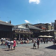 13 theaters, 60 pubs and bars, plus more than a hundred shops (I would assume), everything is in here #CoventGarden
