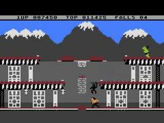 ▶ Atari 800 XL - Bruce Lee - almost Speedrun, 1/2 - YouTube