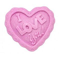 Molde Sabonetes, Coração de Amor