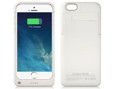 4000mAh Power Bank Case for iPhone 6 #iPhone