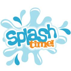 Splash Time! SVG scrapbook title swimming svg scrapbook title swimming svg cut file free svgs