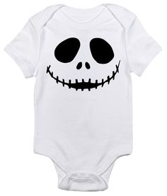 Jack Skellington One-piece Baby Bodysuit