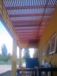 PERGOLA EL ALGARROBAL Outdoor Kitchen Patio, Outdoor Kitchen Design, Patio Design, Outdoor Decor, Blessed Mother, Bbq, Backyard, Home Decor, Gardens