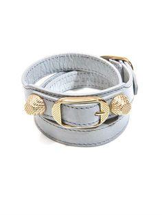 Triple-wrap giant stud bracelet | Balenciaga | MATCHESFASHION.COM