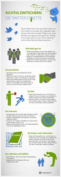 #Infografik Tipps zu #Twitter