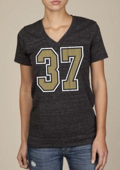 6bfbca804 Gleason 37 Jersey V-neck Ladies. New Orleans Saints ...