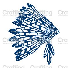 Tattered Lace Dies - Feather Headdress