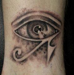 Ganz Besonderes Auge Tattoo-Modelle very special eye tattoo models Egyptian Eye Tattoos, Egyptian Tattoo Sleeve, Eye Of Ra Tattoo, Half Sleeve Tattoos Forearm, Horus Tattoo, Eye Color Chart, Eye Sketch, Time Tattoos, Tatoos