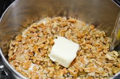 Toffee Walnuts recipe is easy to make. Add sugar, walnuts and butter from Serena Bakes Simply From Scratch. Walnut Recipes, Pecan Recipes, Almond Recipes, Candy Recipes, Dessert Recipes, Easy Desserts, Delicious Desserts, Cook Desserts, Unique Desserts